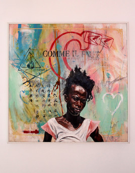 Artist Gregory Saint Amand (5)