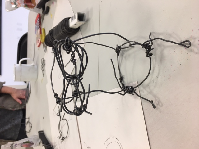 Michael Cuomo: Drawing with Wire