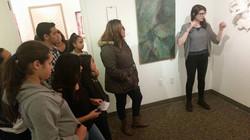 AJ Springer talking about her work
