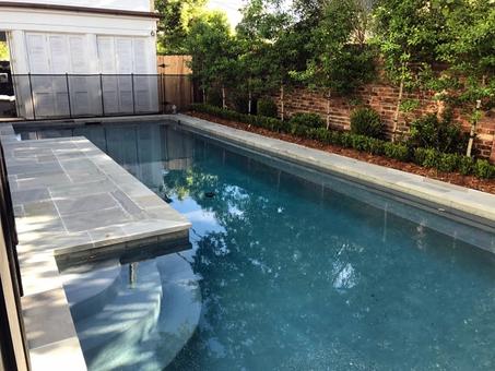 Narrow New Orleans Courtyard Pool.webp