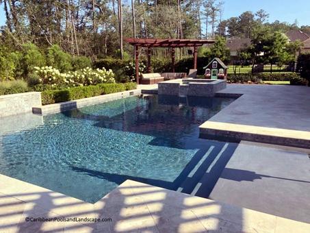 Rectangular Pool Spa Ledge.webp