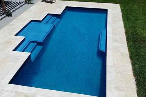 Custom Geometric Swimming Pool.w