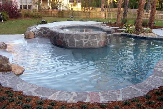 Free Form Stone Pool Spa.webp