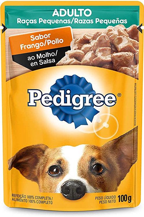 Sache Pedigree adulto raças pequenas frango