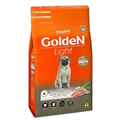 Ração PreGolden Fórmula Light Cães Adultos Raças Pequenas Frango e Arroz 15kg
