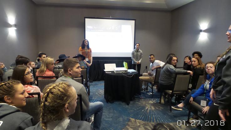 Teaching a Workshop at LEAD