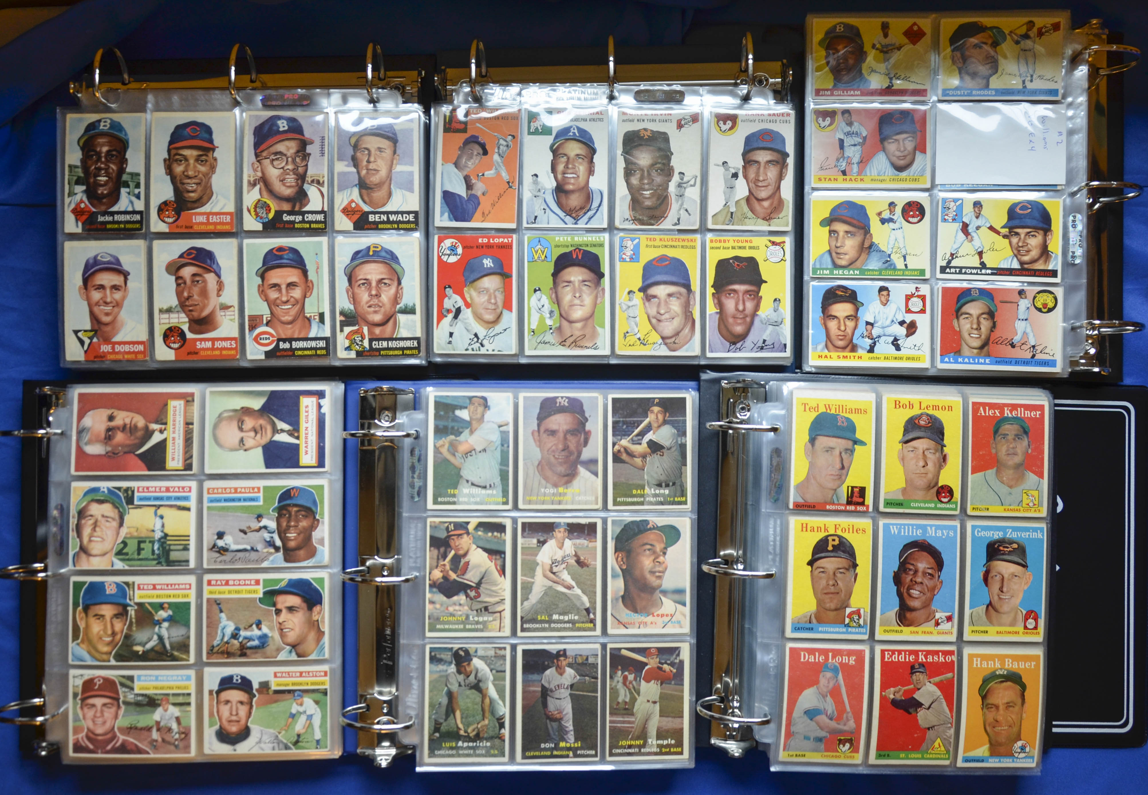 1953-1958 Topps Complete Set Run