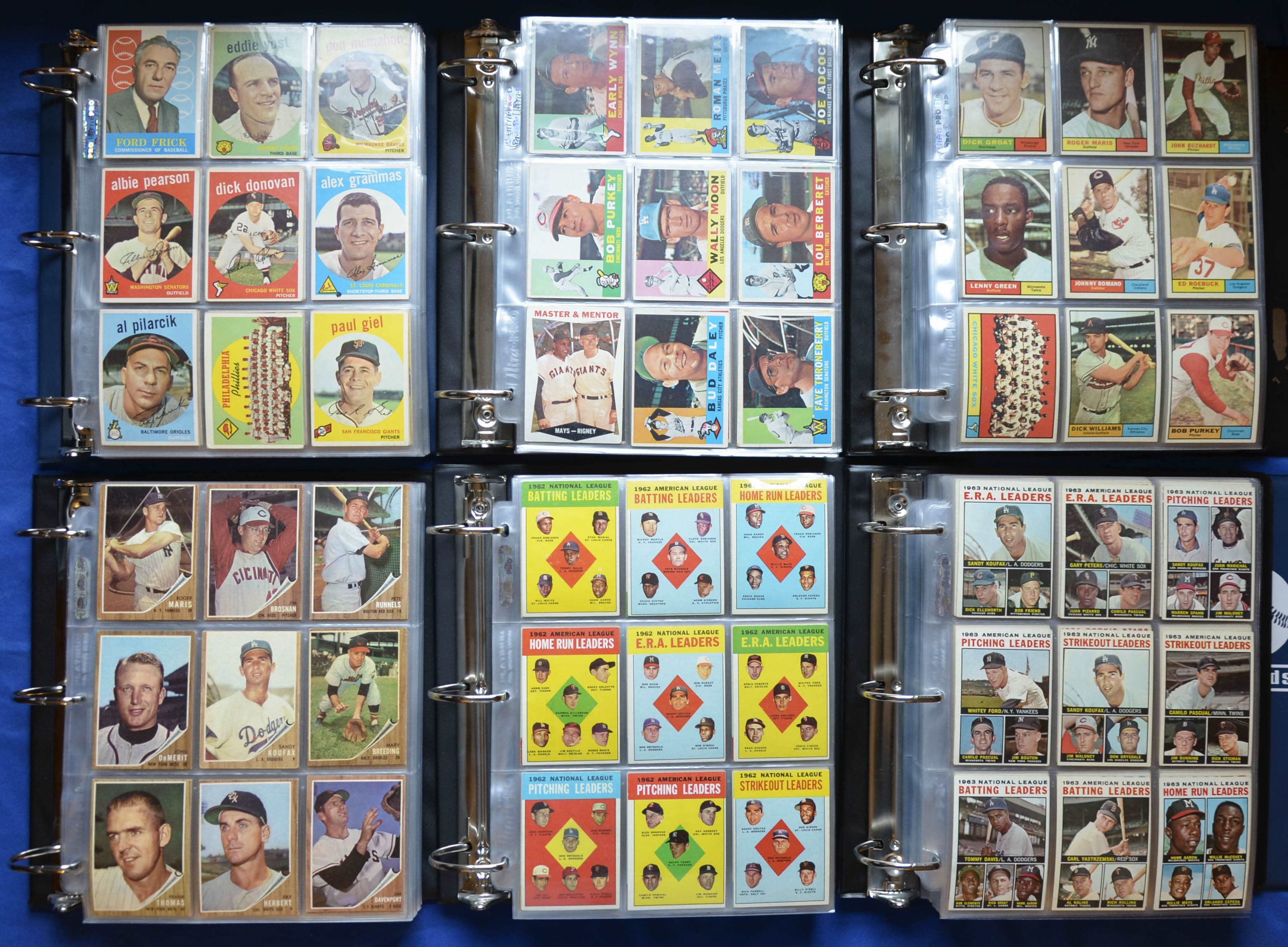 1959-1964 Topps Complete Set Run