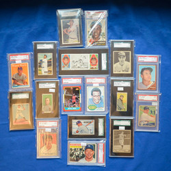 Graded Rookies and Hall of Famers