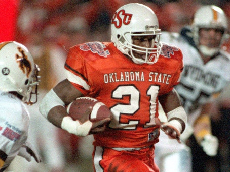 The Greatest Season By An NCAA Running Back: 1988 - Barry Sanders