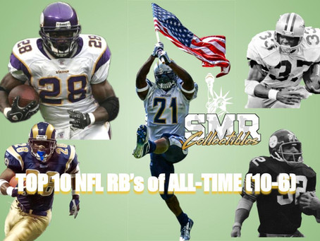 My Top 10 Running Backs in the NFL All-Time - Part 2 (10-6)