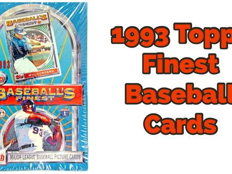 FAVORITE SETS-1993 TOPPS FINEST BASEBALL