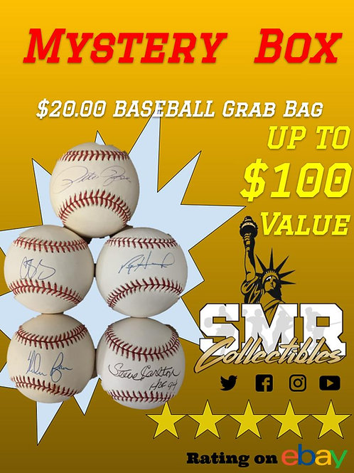 Mystery Box $20 Baseball Grab Bag