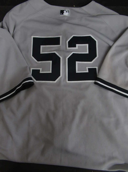 C.C. SABATHIA AUTHENTIC GAME WORN USED NEW YORK YANKEES JERSEY 4/22/2013 JSY147