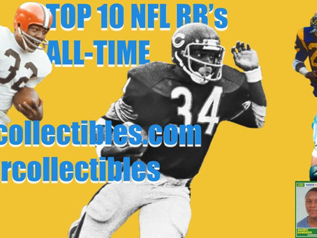 My Top 10 NFL Running Backs All-Time: (1-5)