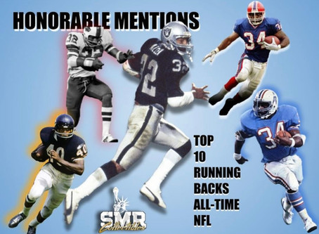 My Top 10 Running Backs of All-Time - Honorable Mentions - Part 1