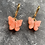 Thumbnail: Mini hoops vlinder oranje