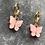 Thumbnail: Mini hoops vlinder roze