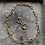 Thumbnail: Schakel ketting en oorbel set