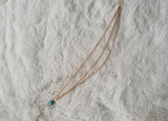 Triple layer anklet