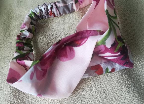 Pink flower haarband