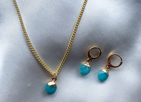 Necklace small turquoise