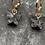 Thumbnail: Mini hoops vlinder  zwart