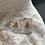 Thumbnail: Gouden kerstboom oorbel