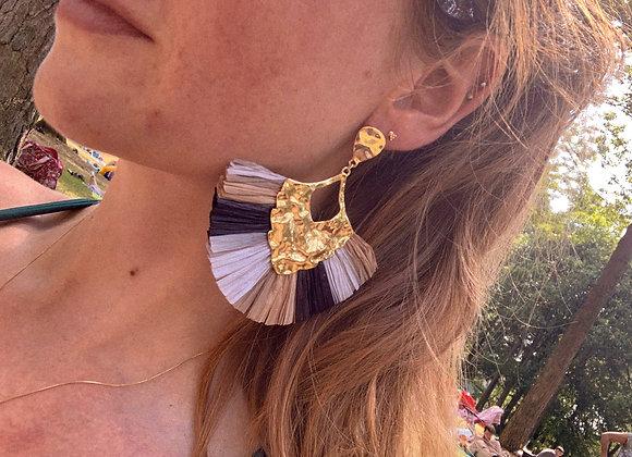 Big African earrings