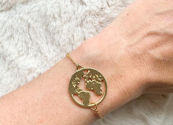 Armband wereld rond
