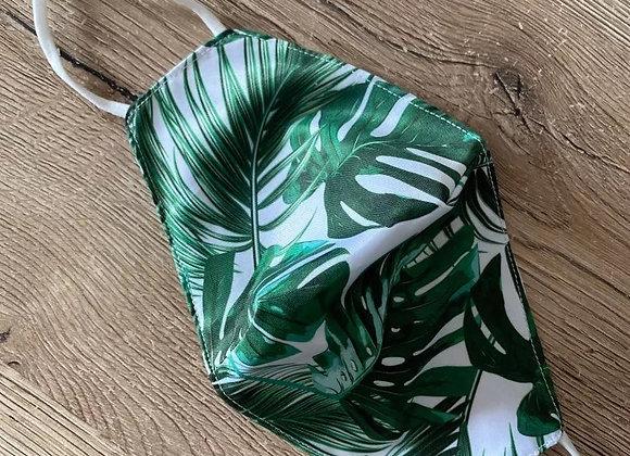 Green leafs mondkapje