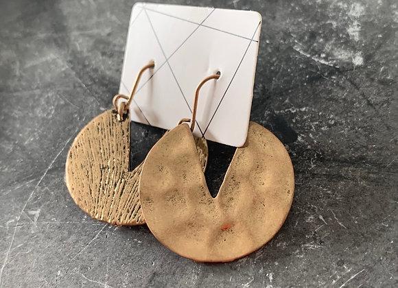 Vintage bronzen earrings