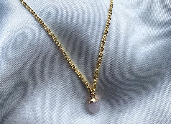 Necklace small pink