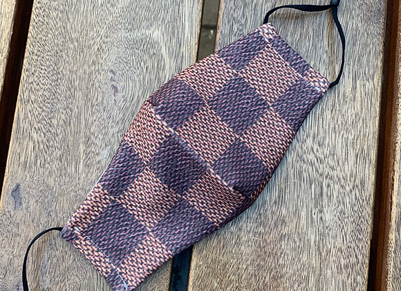 Louis Vuitton print mondkapje