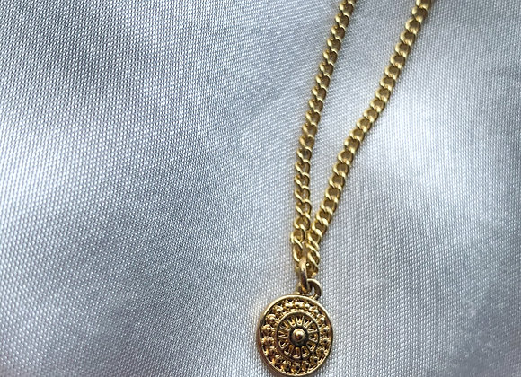 Necklace Bohemian round