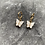 Thumbnail: Mini hoops vlinder wit