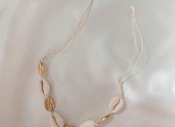 Enkelband / armband Maui schelpen