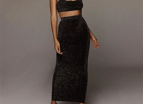 Glitter two piece set