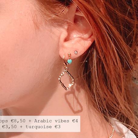 Zelf je oorbellen samenstellen