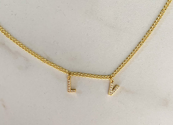 Chain necklace LV