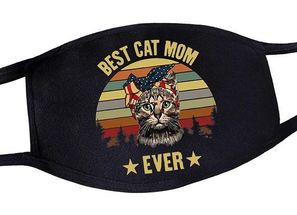 Best cat mom mondkapje