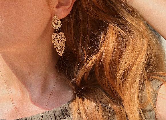 Arabic golden earring
