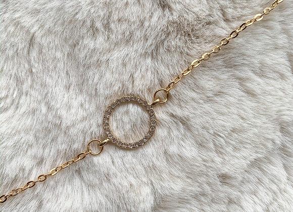 Armband diamant circle