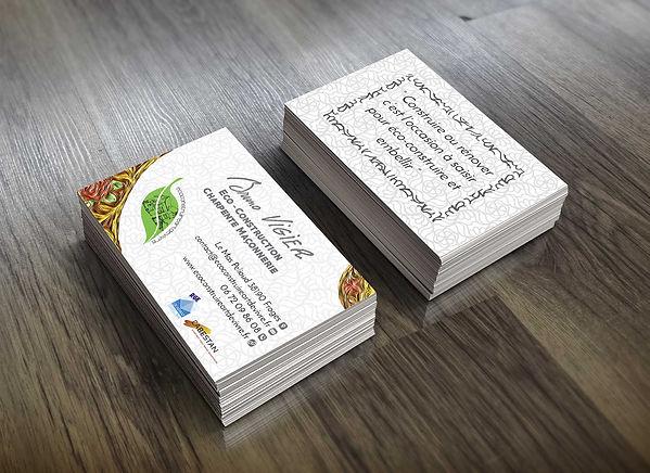 Business card, carte de visite grenoble