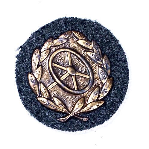 WWII German Driver's Proficiency Badge (Bronze Grade)
