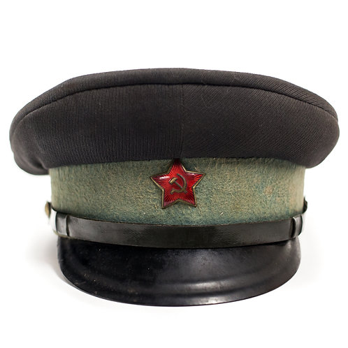 Soviet VOKhR (Militarized Guards) Visor Cap (Early)