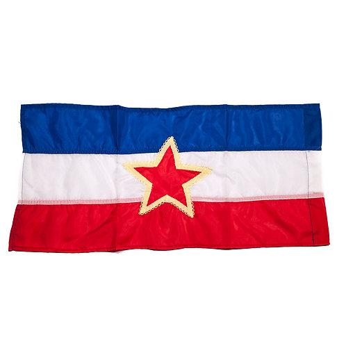 Small Yugoslavia (Croatia) Flag