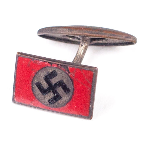 Single NSDAP Supporter Cufflink