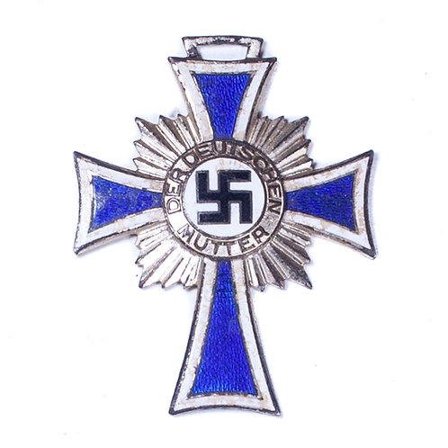WWII Honor Cross of the German Mother, Silver