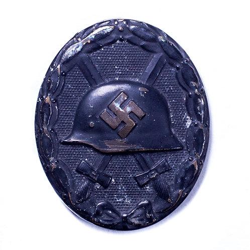 WWII German Black Wound Badge (Unmarked)